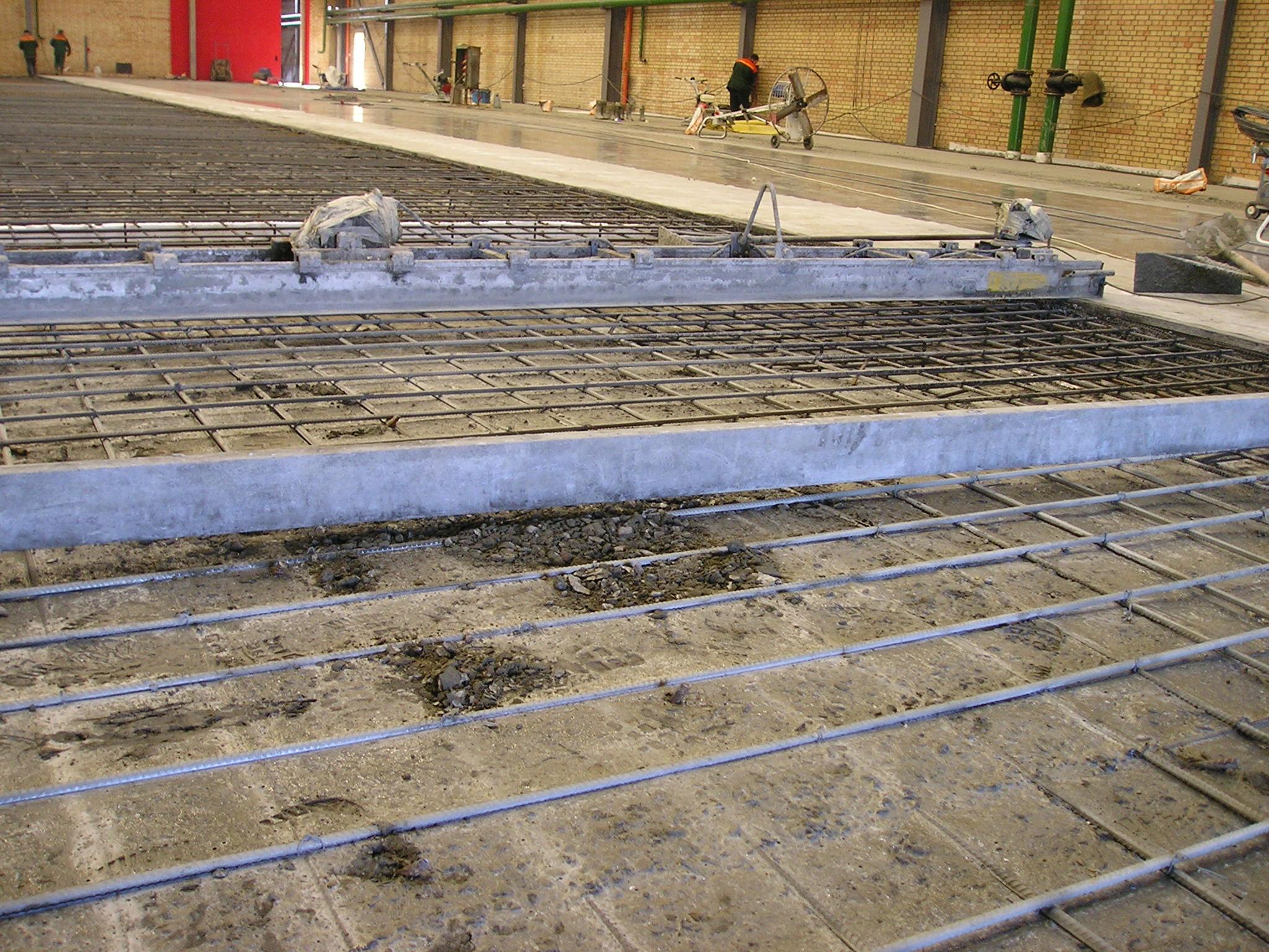 Монолитная бетонная стяжка