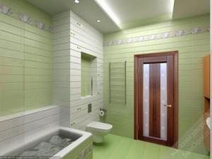 Выбираем дверь в ванную комнату