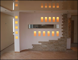 Строим стены внутри квартиры