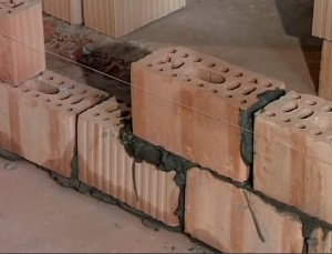 Перегородки, сделанные из блоков