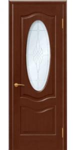 Венера ПО Межкомнатная дверь из массива дерева + петли