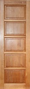 Межкомнатная дверь из массива Премьер-01 ДГ Белоруссия ОКА + петли