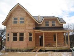 Преимущества двухэтажных деревянных домов