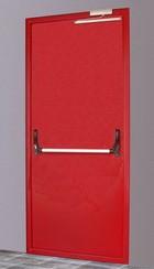 Противопожарная дверь new-3d