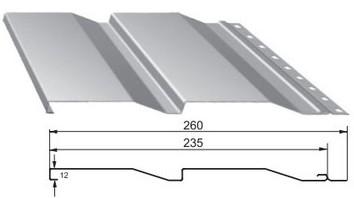 Цокольный металлический сайдинг