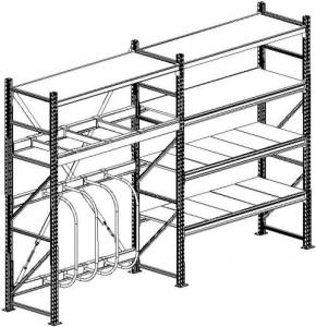 Универсальные стеллажи для склада