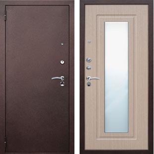 Дверь Юг- Царское Зеркало белёный дуб