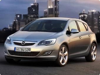 Обзор  автомобиля Opel Astra.