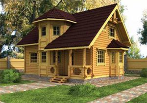 Особенности строительства загородного дома из древесины