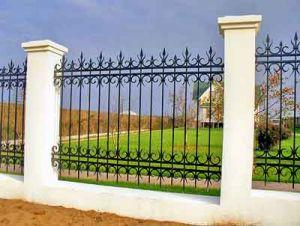 Заборы и ограды из кованых конструкций
