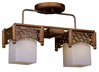 деревянные светильники