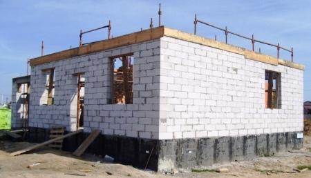 Типовые проекты домов из газобетона