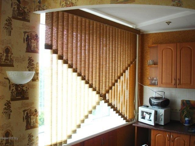 Французские шторы для кухни новинки