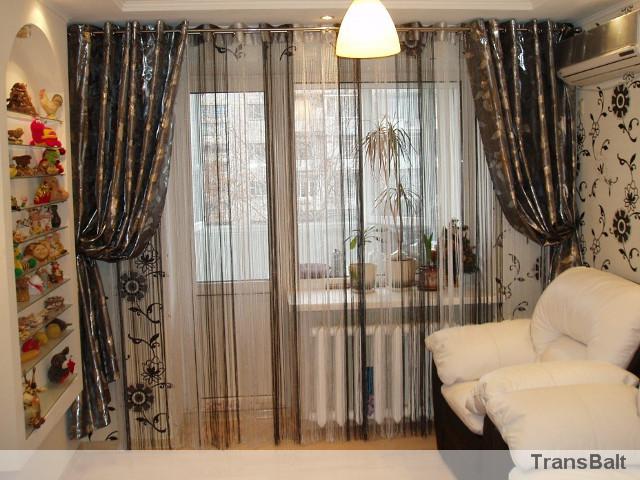 Дизайн штор тюль для зала
