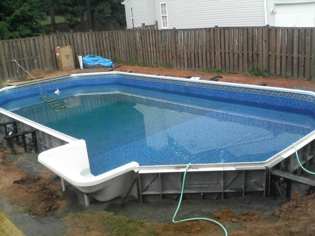 Как сделать летний бассейн своими руками на заднем дворе