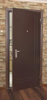Стальные двери серии Альфа