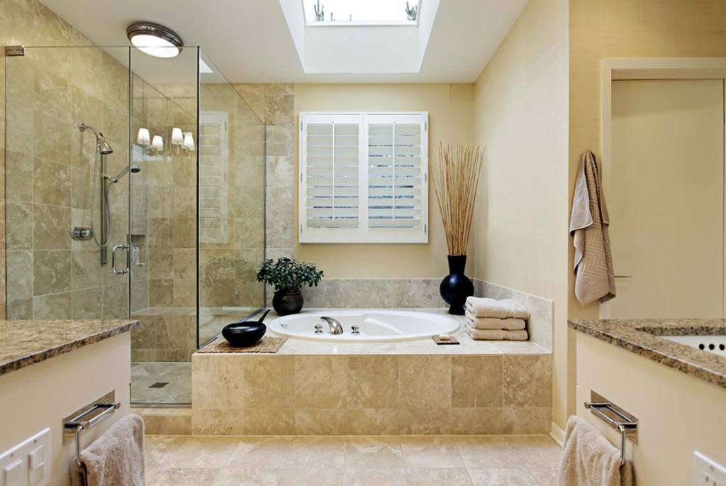 Ремонта в ванной комнате можно разделить на несколько этапов