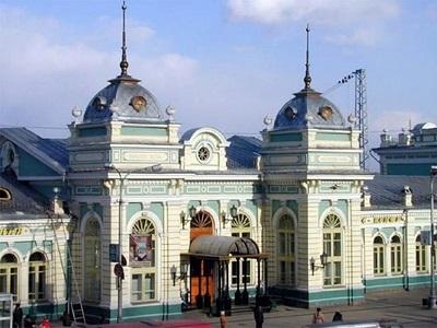 60 Irkutsk Railway station