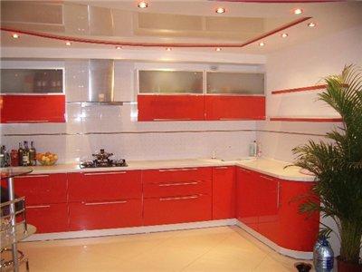 Ремонт кухни под ключ с мебелью